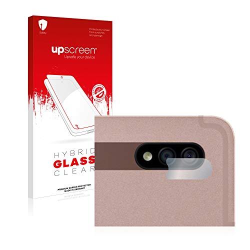 upscreen Hybrid Glass Panzerglas Schutzfolie kompatibel mit Samsung Galaxy Tab S7 Plus 5G 2020 (nur Kamera) 9H Panzerglas-Folie