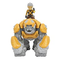 The fully articulated action figure can ride the hyperbeast Includes token accessory Approx. 15cm tall with 4cm Herald action figure Character code to use with Gormiti App Perfect replica of the characters from Gormiti animated TV series