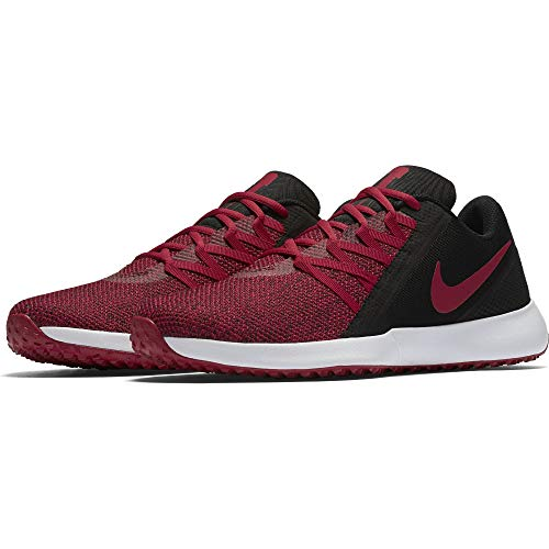 Nike Men's Varsity Compete Trainer Shoe, Black/Gym Red, 11