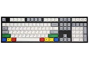 Varmilo VA108M RGBY White LED Dye Sub PBT Mechanical Keyboard  Cherry MX Brown