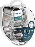 Philips X-tremeVision Pro150 H1 lampadina fari auto +150%, confezione doppia