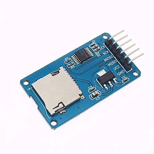 1 UNIDS Micro SD Tarjeta de Expansión de Almacenamiento Mciro SD TF Módulo de Protección de Memoria Módulo SPI Para Arduino Promoción