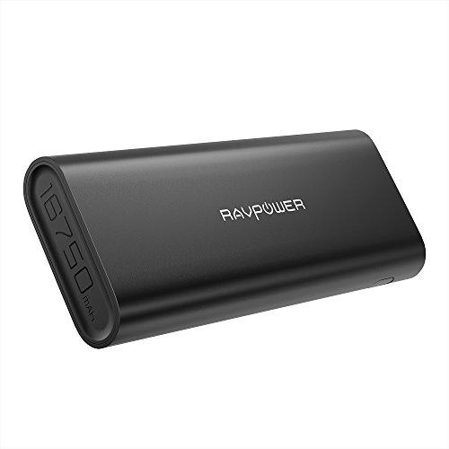 RAVPower 16750mAh Powerbank iSmart 4,5A Ausgang USB für Handys