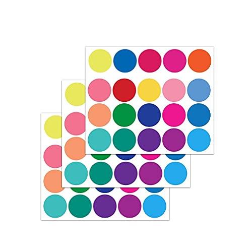 Pegatina de pared de puntos coloridos, niños, niñas, niños, habitación, guardería, sala de estar, dormitorio, cocina, baño, arte 3D, bricolaje, vinilo, papel pintado de arcoíris, autoadhesivo, ext