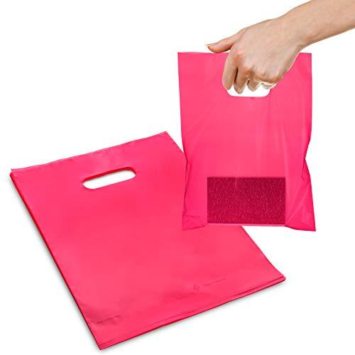 9X 12niedrige Dichte 1,25Mil Merchandise Tasche (25Stück) 9x12 rose