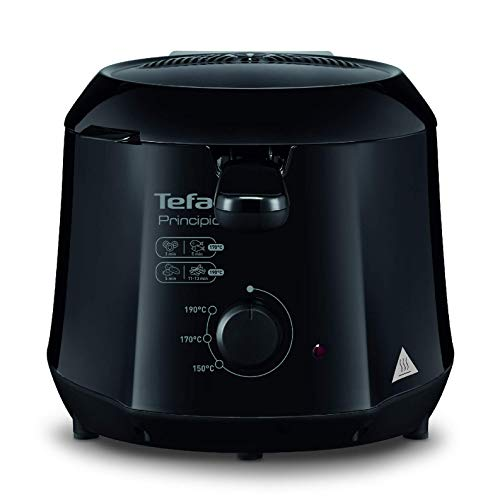 T-fal FF230850 Cool-Touch Mini Deep-Fryer, 1.2-Liter, Black