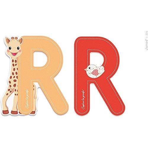 Sophie la Girafe Lettres R