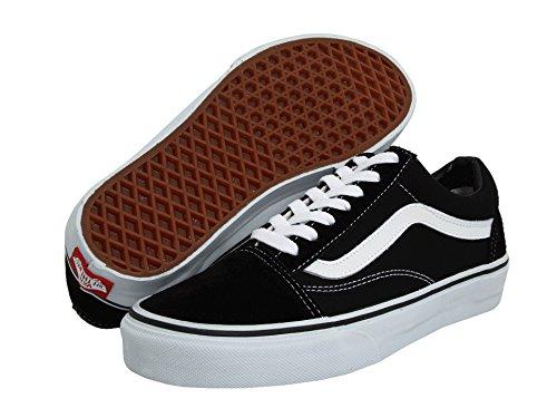 Vans Kids Classic Slip-on - Zapatillas deportivas unisex para bebé, Negro (Daim Noir et Blanc), 40 EU 🔥