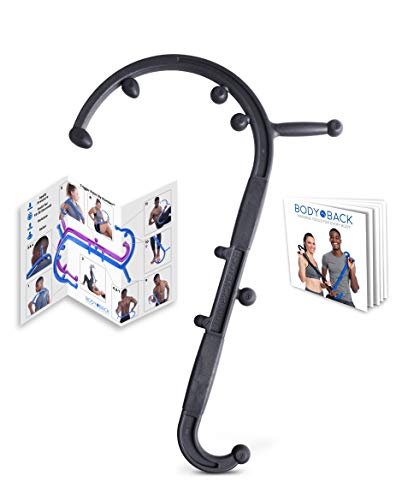 Read About Body Back Buddy Cane Back Massager (Next Gen 2020 Version) Handheld Massage Stick, Trigge...