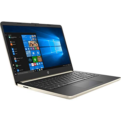 HP 14' Touchscreen PC 4GB RAM, 128GB SSD, i3 HD Laptop, Dual-Core up to 3.90 GHz, Fingerprint, USB-C, 1366x768, UHD 620 Graphic, Bluetooth, Webcam, Win 10