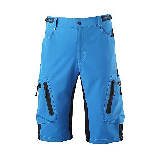 BLOMDE Scruffs Work Trouser Summer Cycling Breathable Loose Outdoor Sports Riding Road Bike Mountain Bike Pants Shorts Men-C_XXL