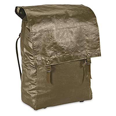 Surplus Czech Military Rubberized Large Backpack, New, Olive Drab