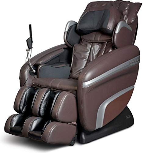 Hot Sale Osaki OS-7200H Elite Massage Chair - Comfortable Seating - Amazing Professional Therapy for the Full Body with Zero Gravity Features - Designed with Many Auto Programs - MP3 Player and Built In Speakers - LCD Display (Brown)