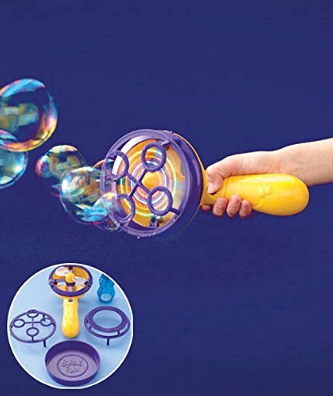 Light-Up Motorized Bubble Storm