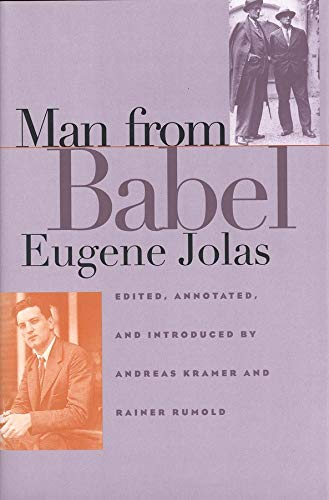 Man from Babel (Henry McBride Series in Modernism and Modernity)