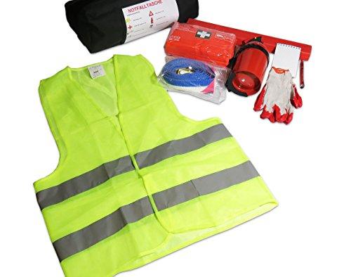Preisvergleich Produktbild EJP-Bag Praktisches Erste-Hilfe-Set (Notfall-Set). Kofferraumtasche Passend für Corsa E