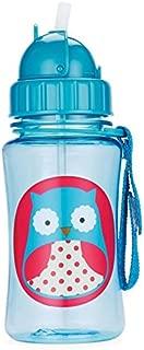 Skip Hop Forget Me Not Kid Straw Bottle, Owl
