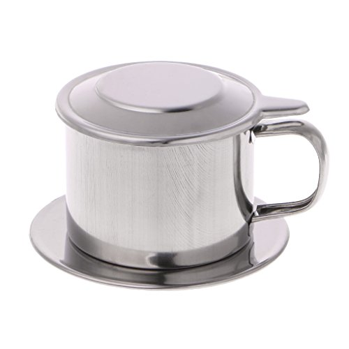 Rbiouseix Vietnamese Koffie Filter RVS Maker Pot Infuse Cup serveren Heerlijk