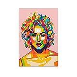 jiandan Queen of Pop Madonna Poster, dekoratives Gemälde,