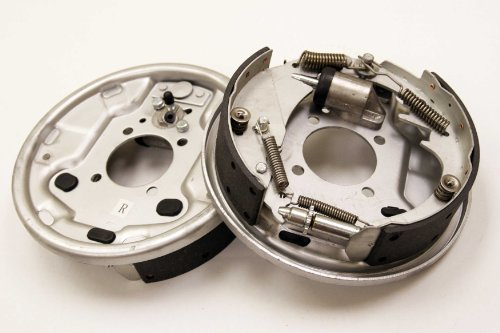 "Highton New 10"" x 2-1/4"" Trailer Hydraulic Free Backing Marine Brake Assembly Pair Set - 21016"
