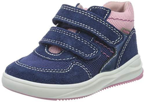 Richter Kinderschuhe Mädchen Harry Hohe Sneaker, Blau (Nautical/Atla/Can/Pet 6821), 25 EU
