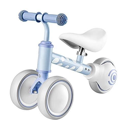 TINE Bicicleta De Equilibrio para Bebé Bicicleta De Triciclo para Niños Pequeños Bicicleta Infantil Bicicleta para Niños Pequeños De Primer Regalo De Cumpleaños para Niños Y Niñas De 1 Año