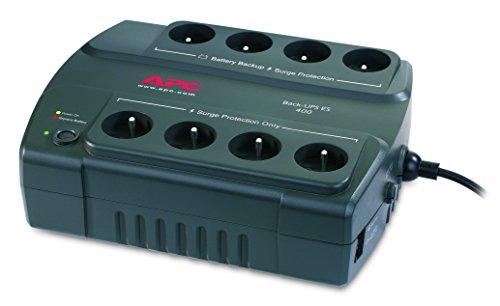 APC Back-UPS ES400 - BE400-FR - Sistema de alimentación ininterrumpida SAI - 8 tomas - Versión Francia