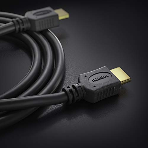 conecto HDMI Kabel HIGH Speed mit Ethernet (vergoldete Stecker, 4K, Ultra-HD, Full HD 1080p, 3D) 1,5m