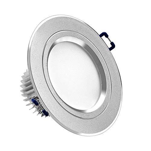 MAONB LED Downlight, 12W Luz De Techo Sala De Exhibición De La Tienda De Ropa Proyector De Pared De Luz 9W, 12W Juego Completo (Color : Warm white)