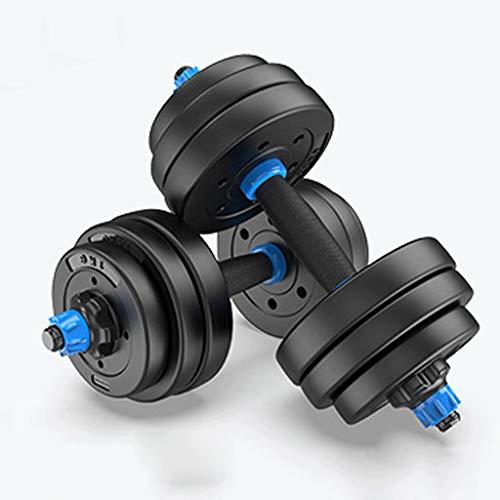 LH SHOP Hanteln, Hantel-Sets, solide Hanteln, 20kg-40kg, Fitnessgeräte, umweltfreundliche Hanteln, Unisex (paarweise) (Color : 30 kg)