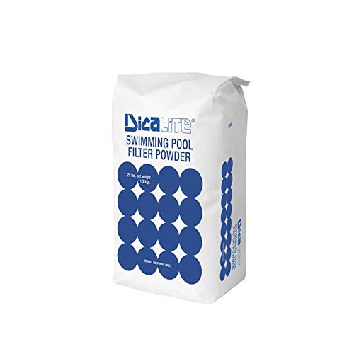 Dicalite Minerals DicaLite-50B Diatomaceous Earth Pool Filter 50 lbs, 20452