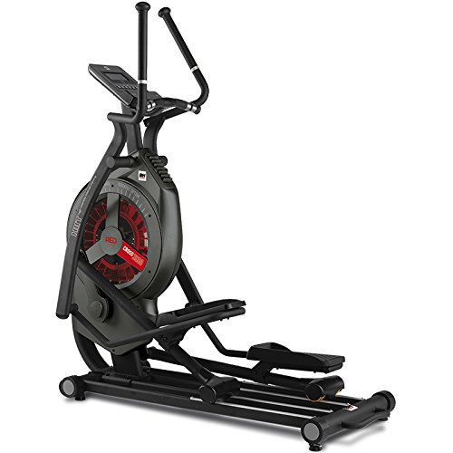 BH Fitness Cross3000 Dual WG880 bicicleta elíptica. Freno combinado magnético y aire. Monitor LCD. Ruedas de transporte.