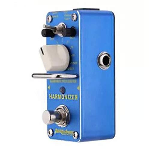 DGdolph Harmonisierer Pitch Shifter Effektpedal E-Gitarre Mini Single Effectblue
