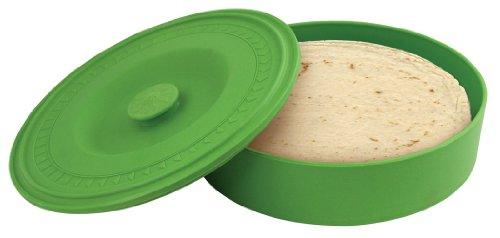 of tortillas leading brands only Fox Run Tortilla Warmer, Plastic, Green