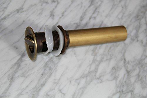 MNLMJ Moderne einfache kupferne heiße und kalte Spülbecken Wasserhähne Küchenarmatur Waschbecken Wasserhahn vollKupfer Muschel Waschbecken Abwasserknopf Geeignet für alle Badezimmer-Spülbecken
