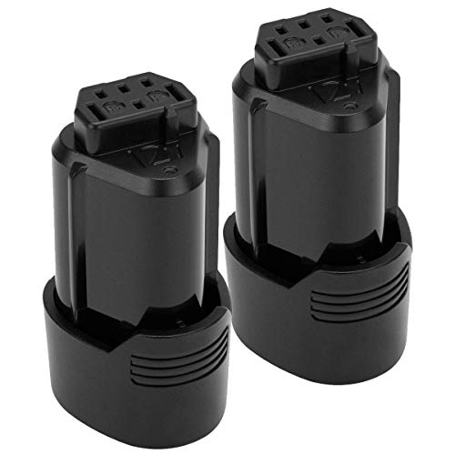 2Pack 3.0mAh 12v Li-ion Replacement Battery Compatible with Ridgid R82048 R82049 130446011