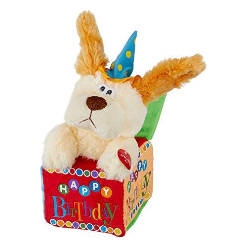 Cepewa Hund singend Happy Birthday Plüschtier Kuscheltier Geburtstag Höhe 30 cm