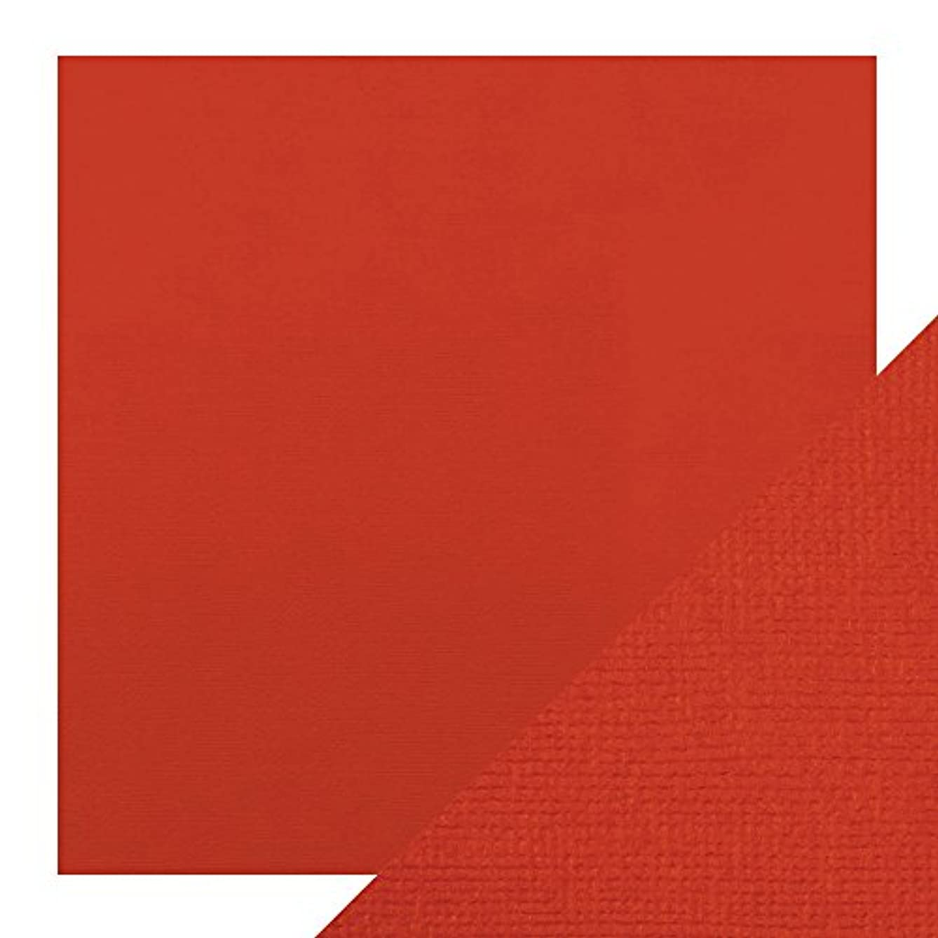 Craft Perfect Card 12x12, Chilli Red