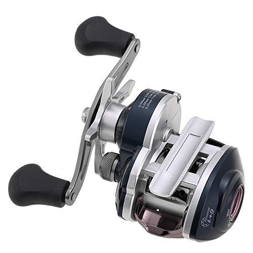 Lixada Carrete de Baitcasting 6+1 Rodamientos de Bolas 8.1: 1 Proporción de Engranaje Alta Velocidad Carrete de Pesca Ligero