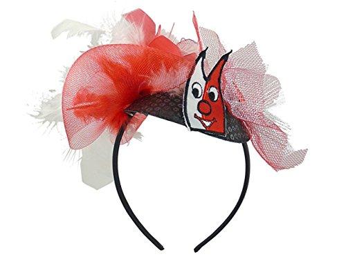 Toller Haarreif Minihut Domi Haarreifen Köln Haarschmuck Karneval Kostüm