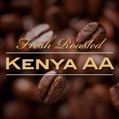 Kenya AA+ Karundul Coffee Beans Finest Auction Lot (Medium Roast (Full City +), 15 pounds Whole Beans)