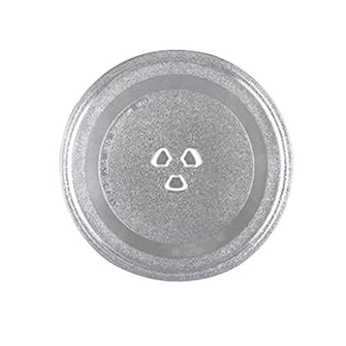 Bandeja De Cristal De Microondas Gruesa / Ajuste Para Horno De Microondas MIDA M1-L213B Bandeja De Vidrio Giratorio De Vidrio Sub Accesorios De Accesorios Diámetro * 24.5cm Accesorios De Piezas De Hor