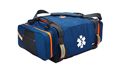 Ergodyne Arsenal 5216 First Responder Medical Trauma Supply Jump Bag for EMS, Police, Firefighters , Blue