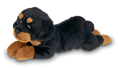 Bearington Lil#039 Gunner Small Plush Rottweiler Stuffed Animal Puppy Dog 8 inches