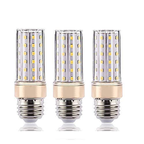 ILAMIQI E27 LED Bulbs Non-Dimmable, 10W LED Bulb 100 Watt Equivalent, 1200lm, Screw Bulb, Warm White 3000K Flicker Free,Light Bulb Warm Glow, Pack of 3