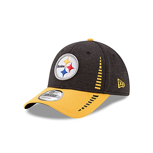 New Era Adult Men NFL NE Speed TECH 9FORTY Adjustable Cap, Black, One Size