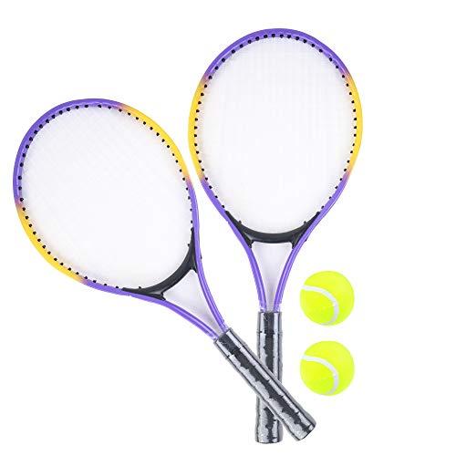 Blue Sky Blue Blue – 2 Raquetas de Tenis y 2 Pelotas 041122Z – 25 cm – Juego al Aire Libre a Partir de 3 años