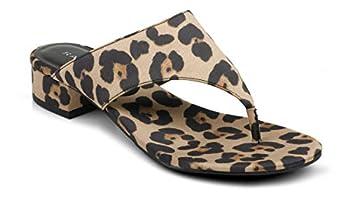 Rampage Women s Ciara Mule Leopard Satin 9