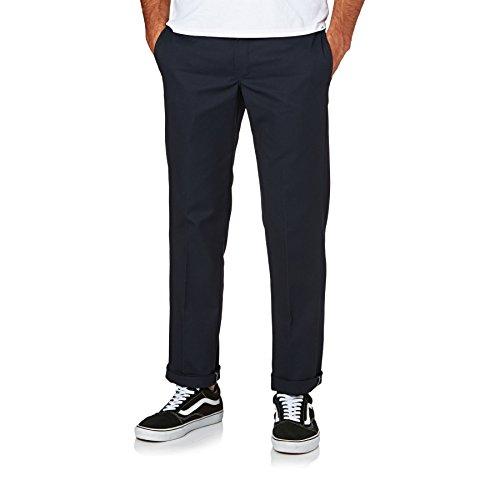 Dickies Slim Fit Straight - Pantalones para hombre, Azul (Dark Navy DN), W32/L34