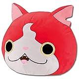 Peluche Nuevo Japón Anime Yo-Kai Watch Jibanyan Cat Big Face Pillow Peluche De Felpa Muñeca Cosplay 22cm Juguetes para Niños Niños